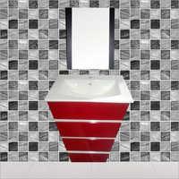 S047 Floor Mounted PVC Cabinet Vanity