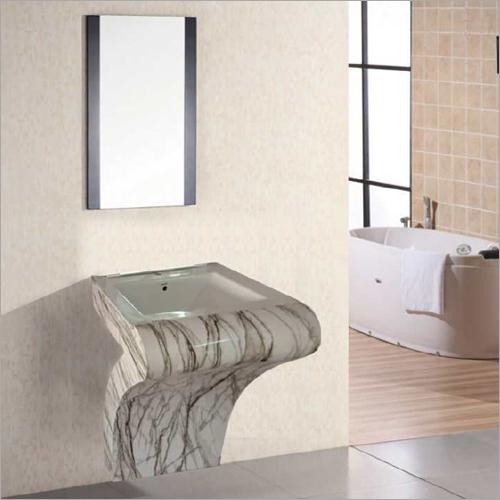 S048 Floor Mounted PVC Cabinet Vanity
