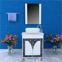 T037 Floor Mounted PVC Cabinet Vanity
