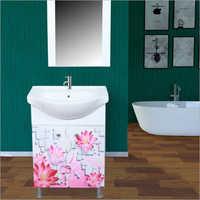 R110 Floor Mounted PVC Cabinet Vanity