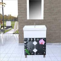 R116 Floor Mounted PVC Cabinet Vanity