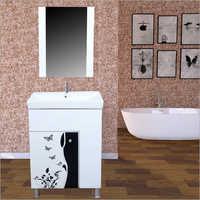 S117 Floor Mounted PVC Cabinet Vanity