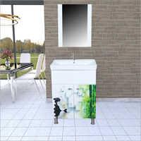 S129 Floor Mounted PVC Cabinet Vanity