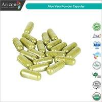 Aloe Vera Powder Capsules