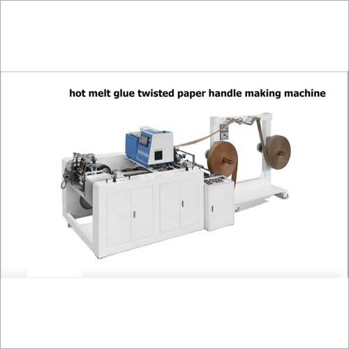 Hot Melt Glue Twisted Paper Handle Making Machine