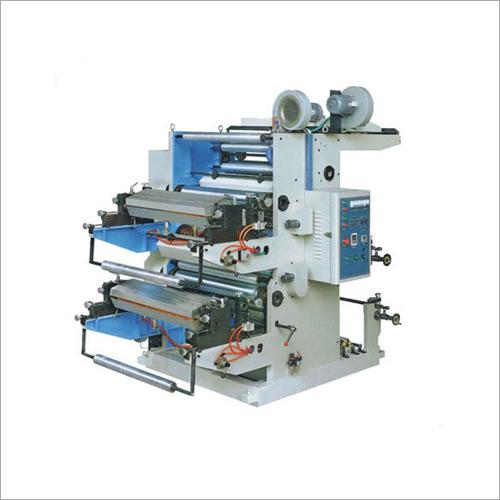Two Color Non Woven Flexo Printing Machine