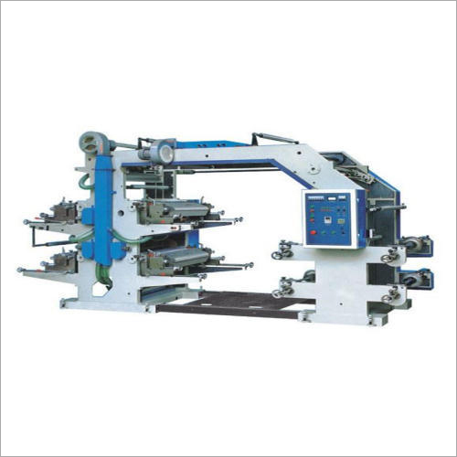 Four Color Non Woven Flexographic Printing Machine