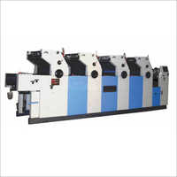 Four Color Offset Non Woven Bag Printing Machine