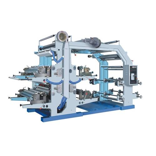 Four Color Non Woven Flexo Printing Machine