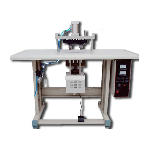 Ultrasonic Double Loop Handle Punch Welding Machine