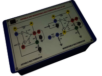 ASTABLE AND MONOSTABLE MULTIVIBRATOR TRAINER (741 IC)