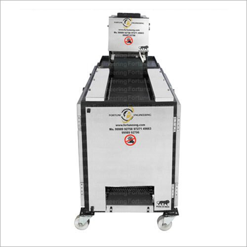 Conveyor Belt Type Chapati Making Machine