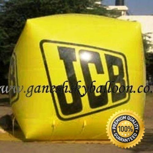 JCB Advertising Sky Balloon   10 x 10 ft.   Ganesh Sky Balloon
