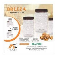 99 Lot Plastic Transparent Jar Set