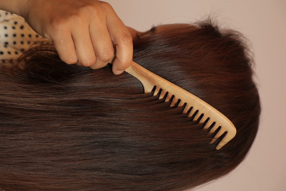 Pocket hair comb