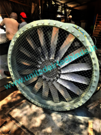 TUBE AXIAL FAN FOR ONGC OFFSHORE SITE