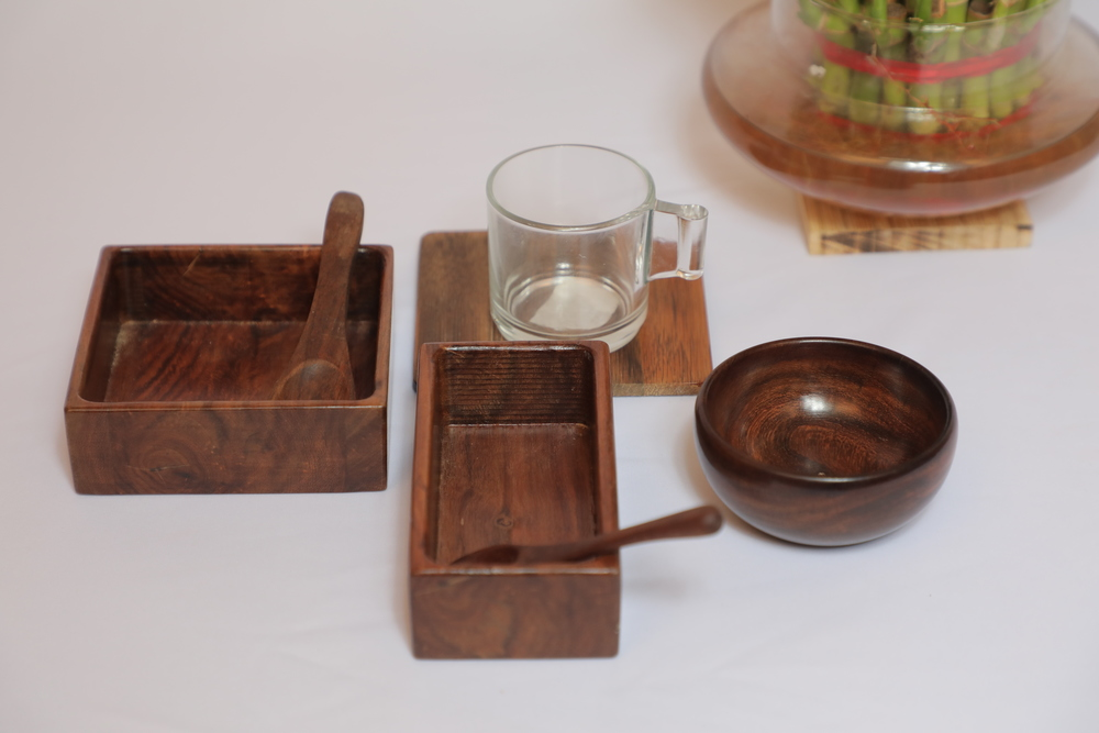 Serving wooden products