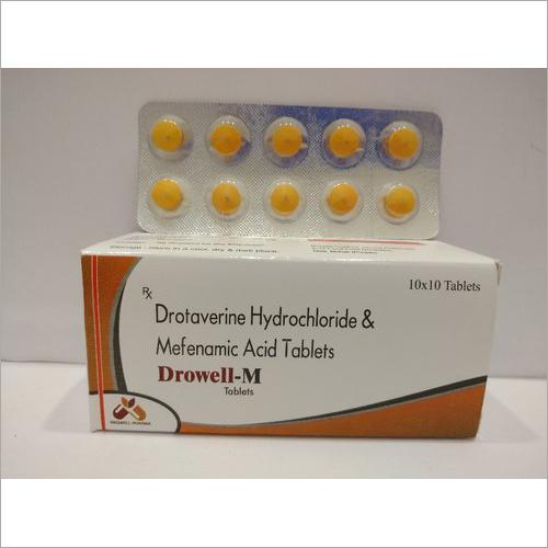 Drotaverine Hydrochloride And Mefenamic Acid Tablet