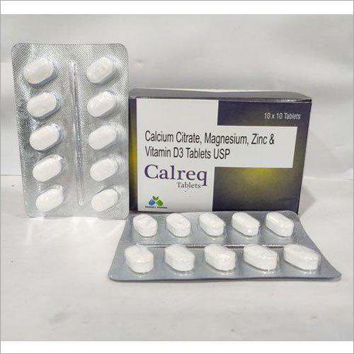 Calcium Citrate, Magnesium, Zinc And Vitamin D3 Tablets USP