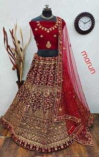 Bridal Lehenga Choli Set 3