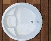 APPOLLO EOS 5X5 FT. ROUND Bath Tub