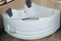 APPOLLO CURVY D 5X5 FT. CORNER Bath Tub