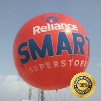 Reliance Smart Advertising Sky Balloon   10x10 Ft.  Ganesh Sky Balloon