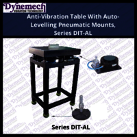 Anti-Vibration Table With Auto-Levelling Pneumatic Mounts, Series DIT-AL