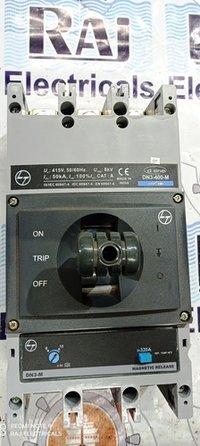L&T (d sine - DN3-400-M) 320 AMP MCCB