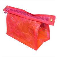 Red Zipper Bag