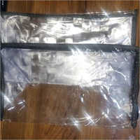 PVC Rectangle Zipper Bag