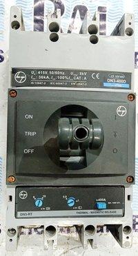 L&T (d sine - DN3-400D) 400 AMP MCCB