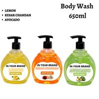 Third Party Manufacturing Body Wash in Different Fragrances