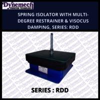 SPRING ISOLATOR WITH MULTI-DEGREE RESTRAINER & VISOCUS DAMPING, SERIES:RDD