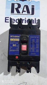 MITSUBISHI (NF 100-SH) 60 AMP MCCB