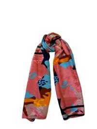 100% Satin Printed  Scarves
