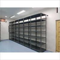 Polished Mild Steel Industrial Storage Rack