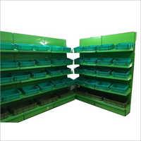 Supermarket Mild Steel Vegetable Rack