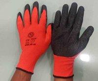 BBI Red Black Latex Coated Gloves