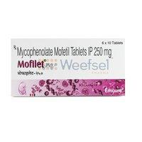 Mofilet 250 (Mycophenolate Mofetil 250mg)