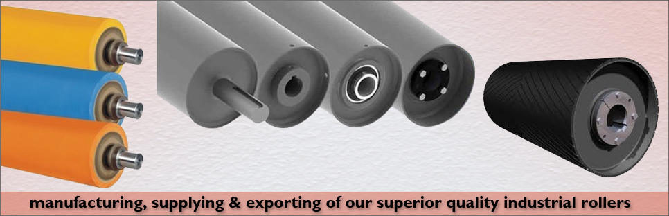Silicon Rubber Roller Manufacturer, Synthetic Rubber Roller