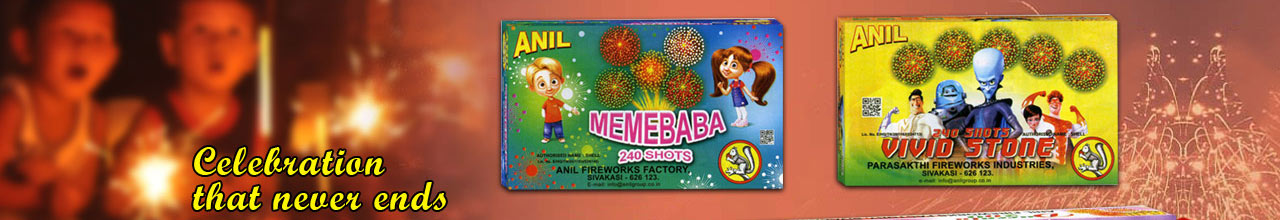 Anil Fireworks Factory  Banner