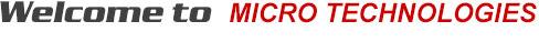 Welcome to Micro Technologies