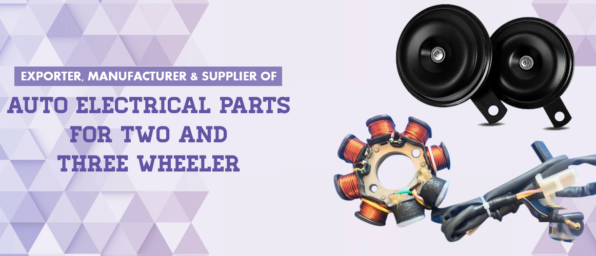 Auto Electric Parts Manufacturer,Auto Electric Accessories Supplier