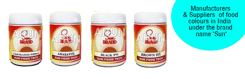 Food colours - food colour manufacturer,food colour exporter,India
