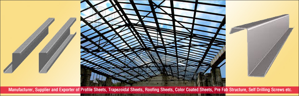Roofing Sheets Manufacturer,Color Coated Roofing Sheets Supplier,India