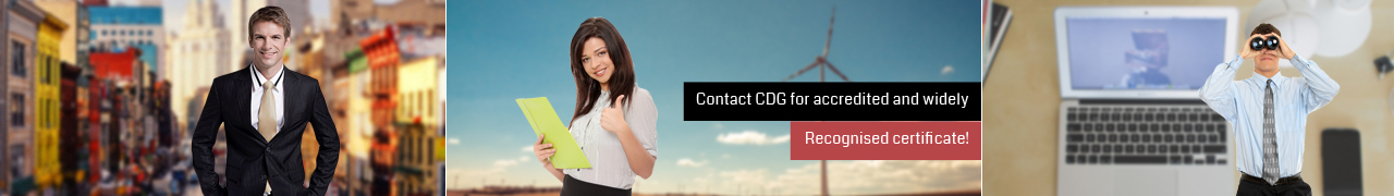 CDG Certification Ltd  Banner
