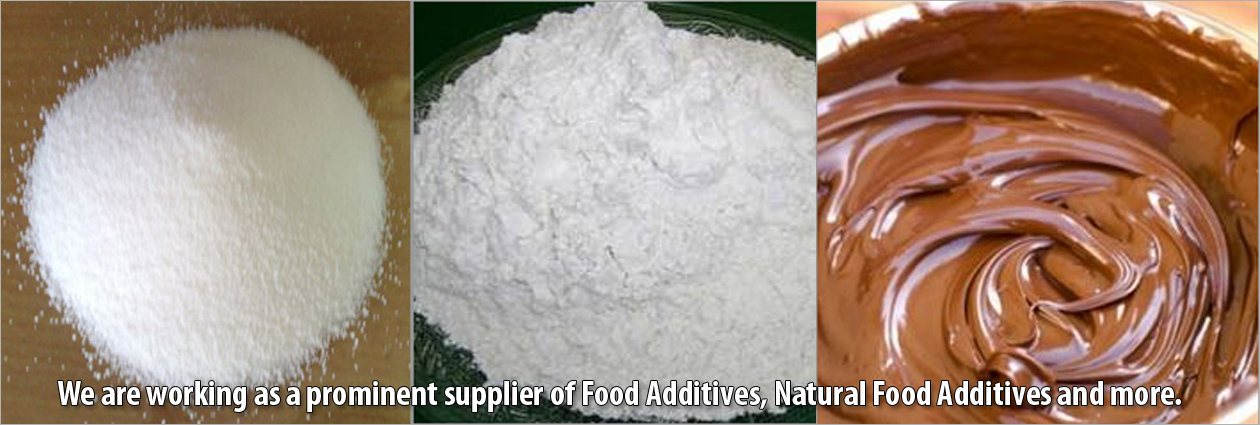 Food Additives Supplier, Natural Food Additives Supplier In