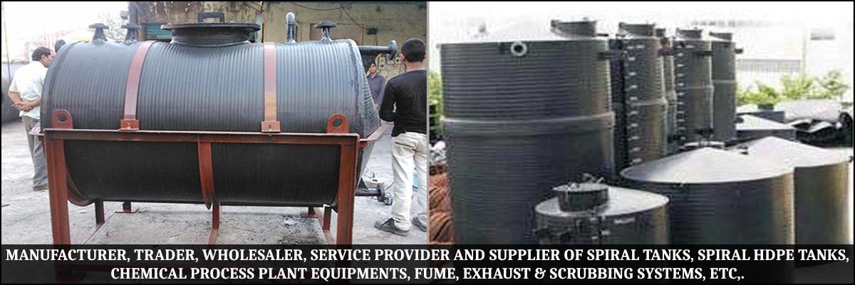 Spiral HDPE Tanks Manufacturer in Thane,Spiral HDPE Tanks Supplier