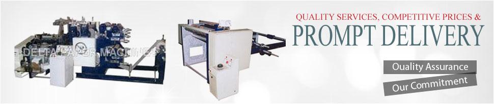 TDelta Paper Machine Banner